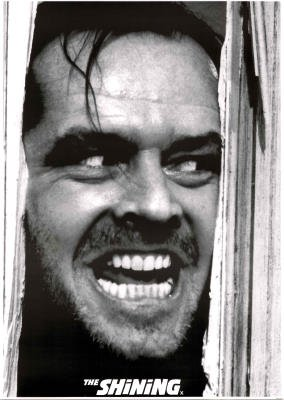 LAMINATED The Shining Movie Poster Jack Nicholson Kubrick Poster - 24x33