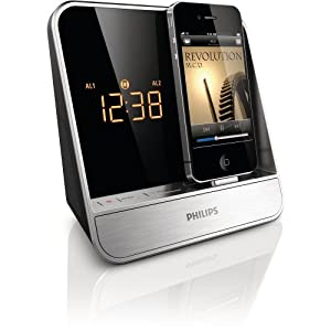 philips aj5300d 37 alarm clock radio for 30. Black Bedroom Furniture Sets. Home Design Ideas