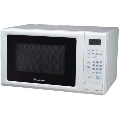 Best Buy! Magic Chef Mcm1110W 1.1 Cubic Feet 1,000-Watt Microwave With Digital Touch, White