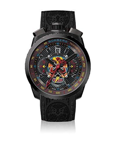 Bomberg Reloj con movimiento cuarzo suizo Man Bolt68 Fhantom Skull 47 mm