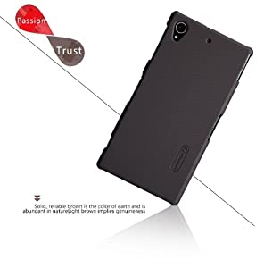IVSO@ Xperia Z1S Super Matte Shield Cover High Quality Case(For Sony Xperia Z1S (T-Mobile version) (Brown)