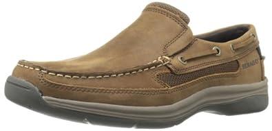 Sebago Men's Bowman Boat Shoe,Chocolate,7 M US