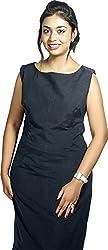 BAJA Women's Regular Fit Dress (BLSHDR, Blue, L)