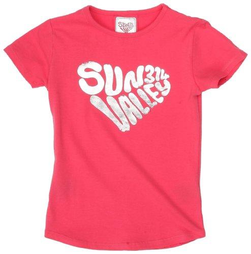 Sun Valley Junior-Rapa Maglietta a maniche corte da ragazza