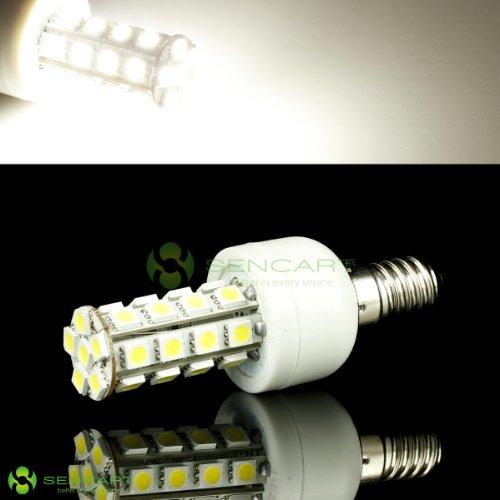 E14 5.5W 6500K 360-Lumen 30 X 5050 Smd Led White Light Bulb (85~265V)