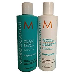 Moroccanoil Hydrating Shampoo Plus Conditioner, 2 Count