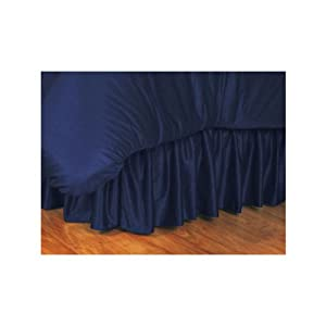 Auburn Tigers Queen Jersey Bedskirt by Sports Coverage