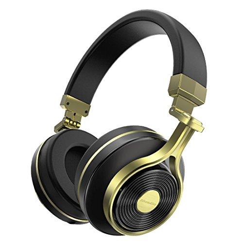Bluedio T3 (Turbina 3) Cuffie Wireless Bluetooth 4.1 Stereo (Oro)