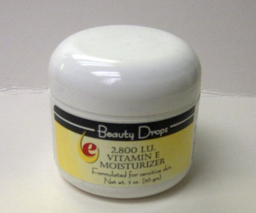Beauty Drops Vitamin E Facial Moisturizer Cream 2800 IU 2 oz