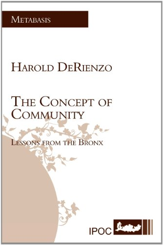 The Concept of Community: Lessons from the Bronx