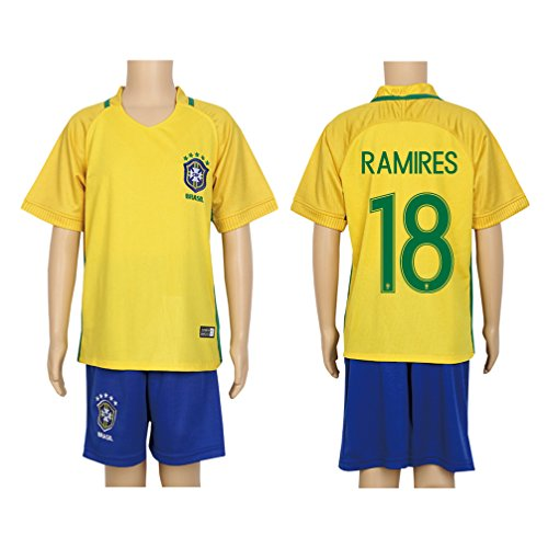 2016-copa-18-ramires-yellow-home-kids-soccer-jersey-short-kit-set