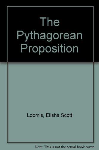 The Pythagorean Proposition