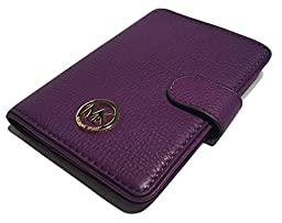 Michael Kors Fulton Passport Case Holder (Violet)