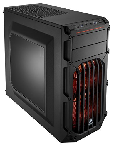 Corsair-Case-Essential-Gaming-Mid-Tower-Atx-Carbide-Con-Finestra-e-Ventola-Frontale-a-LED