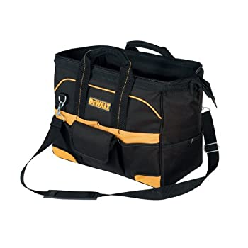 Brand new DeWalt Tradesman's Tool Bag. Large interior compartment allows for easy access to tools and parts. 20 exterior pockets allow for hundreds of organization options. One exterior flap covered pocket with hook & loop closure. 13 interior pocket...