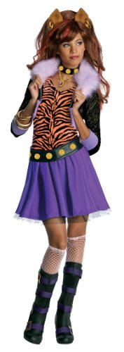 Monster High Clawdeen Wolf Costume - One Color - Medium