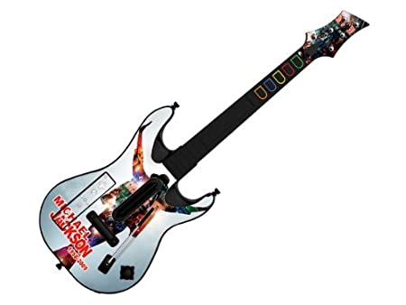 Decorative Skin fits Guitar Hero 5 for Wii (GUITAR NOT INCLUDED), Item No.GTW0996-18