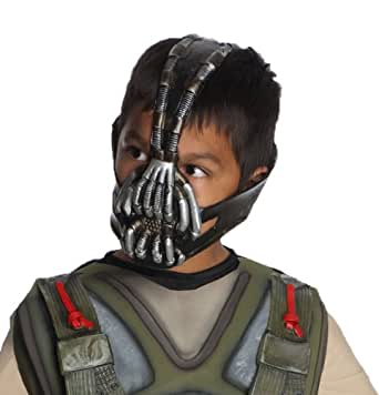 Batman: The Dark Knight Rises: Bane 3/4 Mask, Child Size (Black)