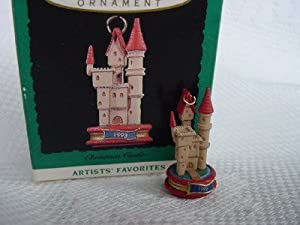 Hallmark 1993 Miniature Christmas Castle Christmas Ornament
