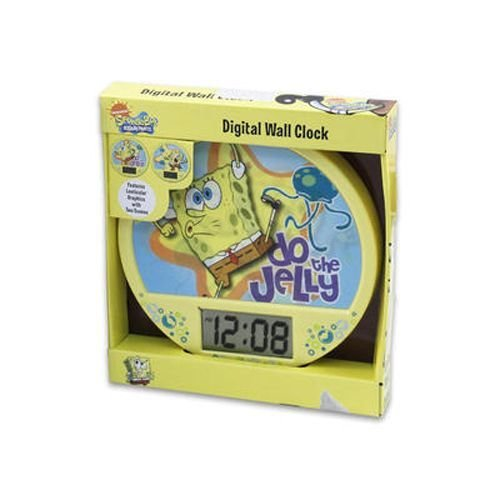 Sponge Bob Lenticular Wall Clock (6 Pieces)