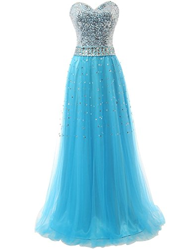 KAY&LAYLA Evening Gown Sequins Gown 2015 with Bead Pageant Gown