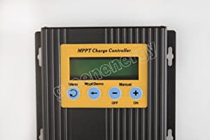 ECO-WORTHY 20A 12V/24V MPPT Solar Charge Controller Solar Regulator 15-30% More Power from ECO-WORTHY