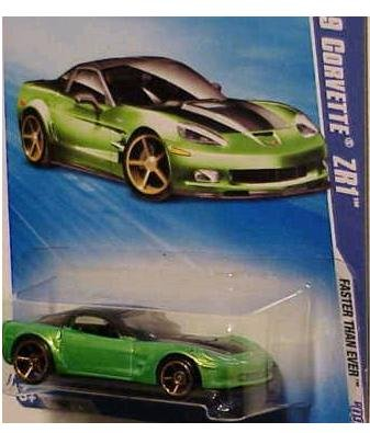 Hot Wheels 2009-135 '09 Corvette ZR1 Faster Than Ever 1:64 Scale - 1