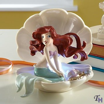 Disney'S Ariel'S Gleaming Treasure Figurine By Lenox