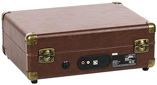 QFX TURN-101 Retro Collection Suitcase Turntable 3