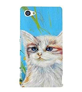 EPICCASE art cat Mobile Back Case Cover For Sony Xperia Z5 Mini / Z5 Compact (Designer Case)