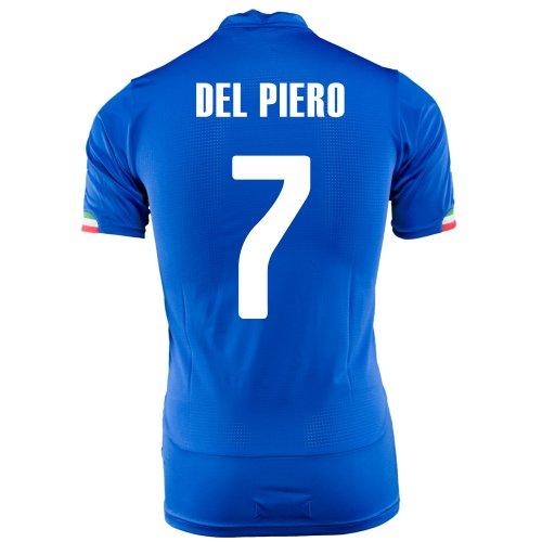 PUMA DEL PIERO #7 ITALY HOME JERSEY WORLD CUP 2014/サッカーユニフォーム イタリア ホーム用 ワールドカップ2014 背番号7 デル・ピエロ (M)