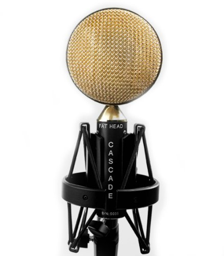 Cascade Microphones Fat Head - Black/Gold