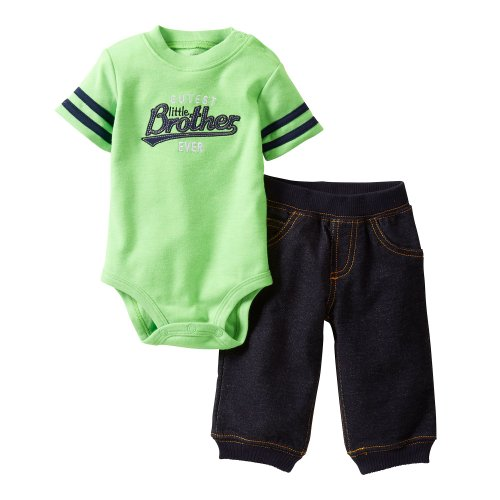 Carter'S Cutest Little Brother Bodysuit & Pants Set (24 Months) front-144708