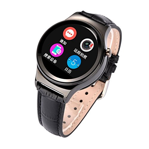 Lacaca Bluetooth smart vigilanza Card Phone Mate per Android Samsung Smartphone Nero
