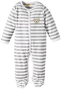 Steiff 0002848 Romper 1/1 Sleeves - Pijama de manga larga con cuello redondo para niñas/niños