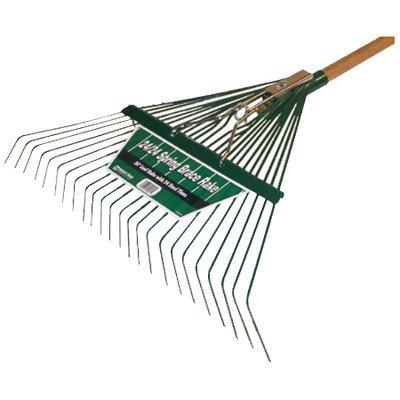 Midwest 40912 heavy duty spring brace rake with handle 24 for Heavy duty garden rake