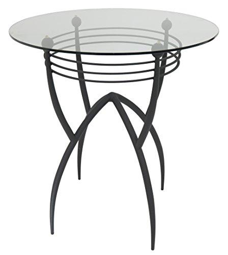 impacterra-sk-520-bar-table-40-matte-black-clear-glass