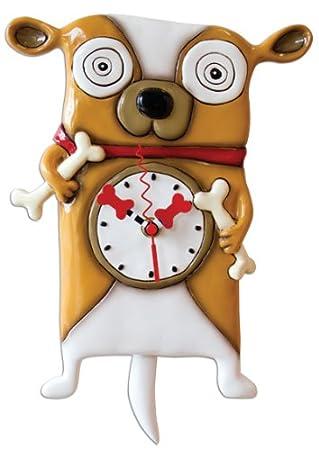 Funky dog wall clocks - Funky cuckoo clock ...
