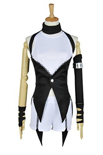 [CosplayNow RWBY Blake Belladonna Cosplay Costume Combat Uniform Black M] (Blake Rwby Costume)