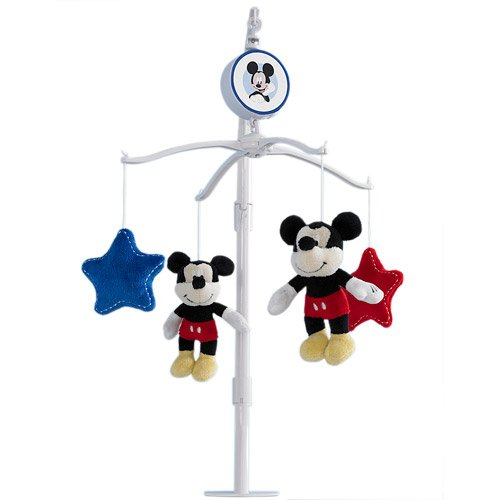 Disney Baby Best Friends Mickey Mouse Musical Mobile - 1