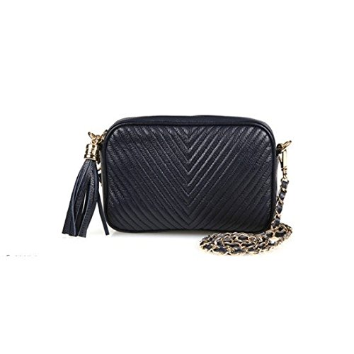 dearwyw-women-genuine-cow-leather-mini-oblique-quilted-square-cross-body-shoulder-bag-navy