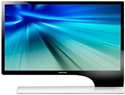 Samsung S24B750VS 24 inch Widescreen LED Monitor - Gloss Black/White (1920 x 1080 Full HD, 2ms, 2xHDMI/VGA, MHL, Speakers)