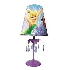 Lampe de chevet fairies disney fee clochette chambre fille for Lampe de chevet anglais