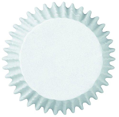 Lot de 50 Mini-Coupelles en papier - WILTON pour Mini-Cupcakes, Cakes, Diamètre 5.7