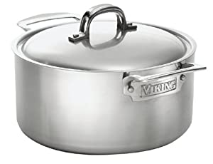 Viking 7-Ply Stainless 5-1/2-Quart Sauce Pot