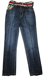 Topchee Kids' Jeans (JNK-01_Blue_2 to 3 Years)