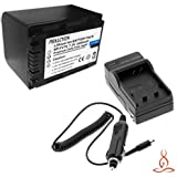 Halcyon 2400 MAH Lithium Ion Replacement Battery And Charger Kit For Sony DCR-SX85 Handycam Digital Camcorder...