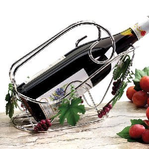 GRAPEVINE BOTTLE HOLDER - GRAPEVINE CENTERPIECE WINE BOTTLE RACK - centerpiece