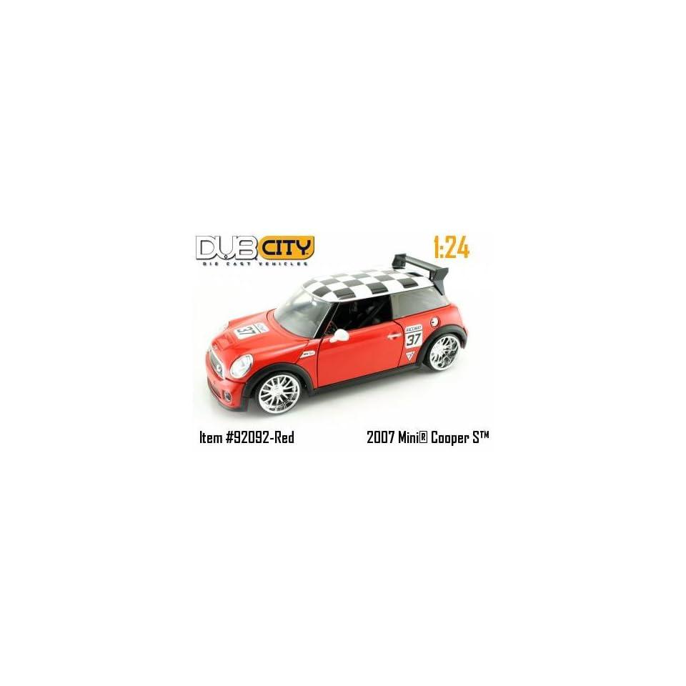 Jada Toys Dub City   Mini Cooper S Hard Top (2007, 124