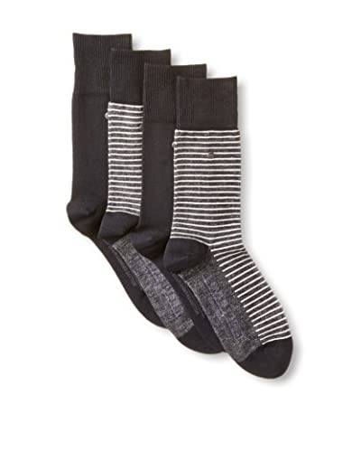 Levi's Men's Vintage Stripe Socks - 4 Pack